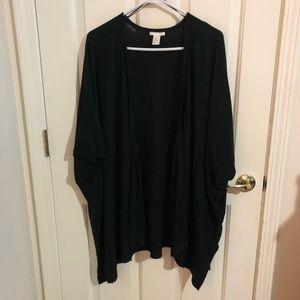 Women's cardigan, black,
